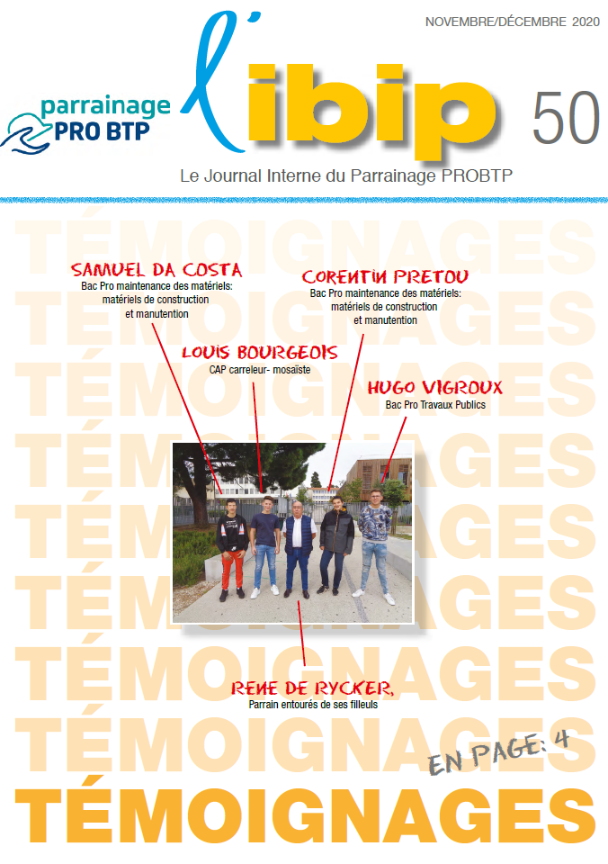 Couverture du journal IBIP